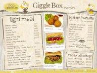 menu makanan Giggle Box
